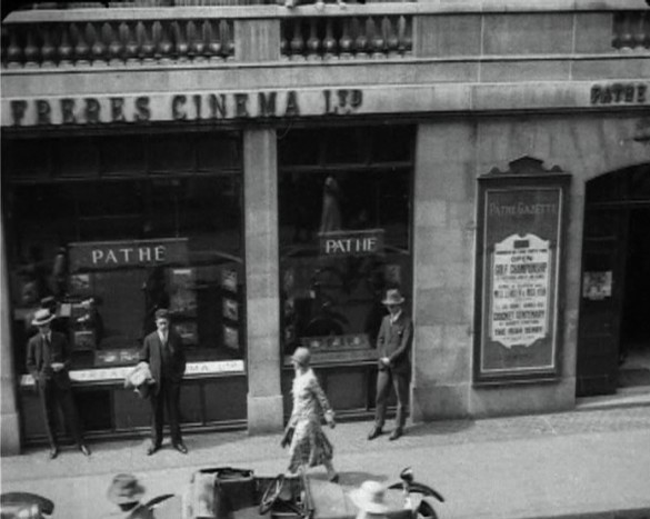 The Pathe Building on Wardour Street