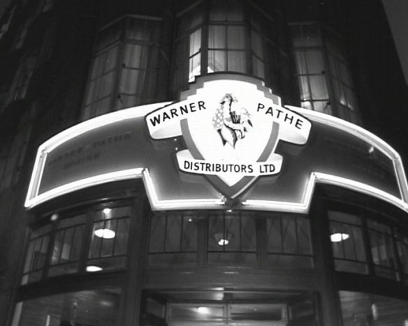 Warner-Pathe offices on Wardour Street